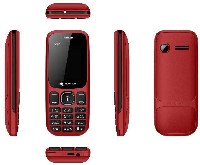 Мобильный телефон Micromax X512 красный (MICROMAX X512 R) - фото 2