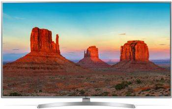 "Телевизор LED 43"" LG 43UK6510PLB серебристый"