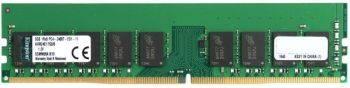 Модуль памяти DIMM DDR4 1x8Gb Kingston KVR24E17S8/8