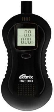Алкотестер Ritmix RAT-303 полупроводниковый черный
