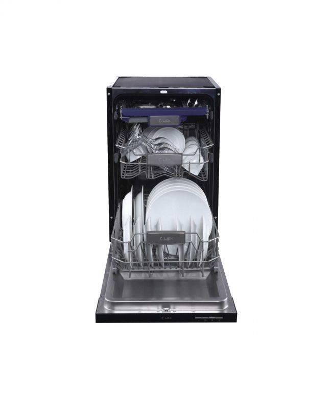Посудомоечная машина Lex PM 4563 N нержавеющая сталь - фото 2