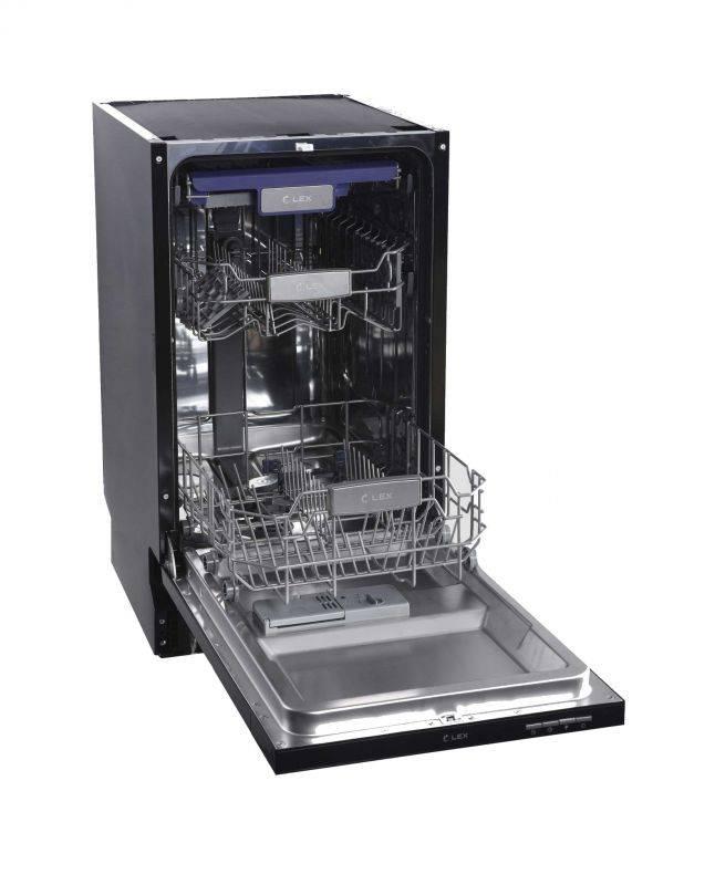 Посудомоечная машина Lex PM 4563 N нержавеющая сталь - фото 3