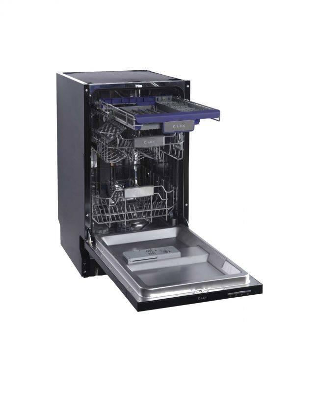 Посудомоечная машина Lex PM 4563 N нержавеющая сталь - фото 4