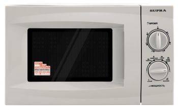СВЧ-печь Supra 18MS01 серебристый (11851)