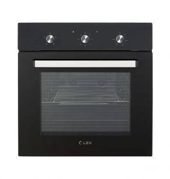 Духовой шкаф электрический Lex EDM 041 BL черный
