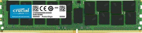 Модуль памяти DIMM DDR4 1x32Gb Crucial CT32G4LFD4266, частота 2666MHz, напряжение 1.2В - фото 1