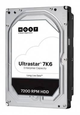 Жесткий диск 4Tb HGST Ultrastar 7K6 HUS726T4TAL5204 SAS 3.0 (0B36048)