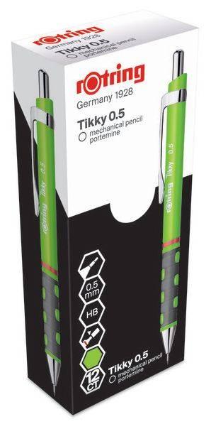 Карандаш механический Rotring Tikky зеленый/неон (2007217) - фото 2