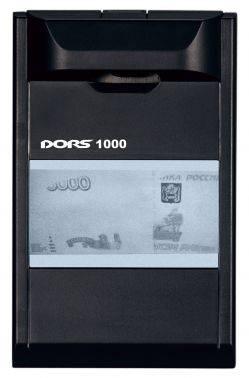 Детектор банкнот Dors 1000M3 черный (FRZ-022087)