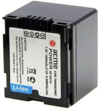 Аккумулятор для компактных камер и видеокамер AcmePower AP-DU14