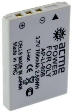 Аккумулятор для компактных камер и видеокамер AcmePower AP-LI-80B