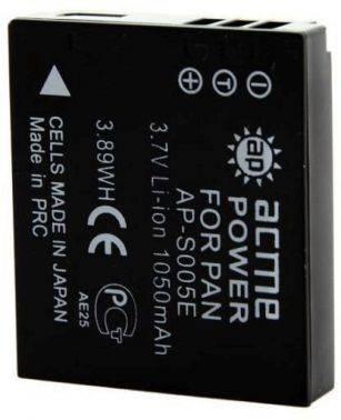 Аккумулятор для компактных камер и видеокамер AcmePower AP-S005E