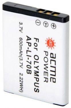 Аккумулятор для компактных камер и видеокамер AcmePower AP-LI-70B