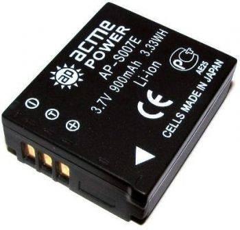 Аккумулятор для компактных камер и видеокамер AcmePower AP-S007E