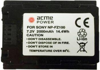 Аккумулятор для компактных камер и видеокамер AcmePower AP-NP-FZ100