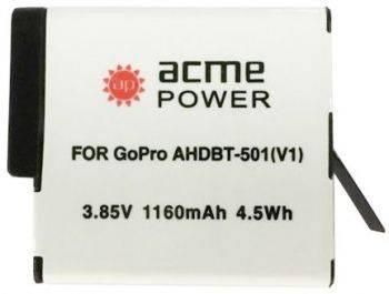 Аккумулятор для экшн-камер AcmePower AP-AHDBT-501
