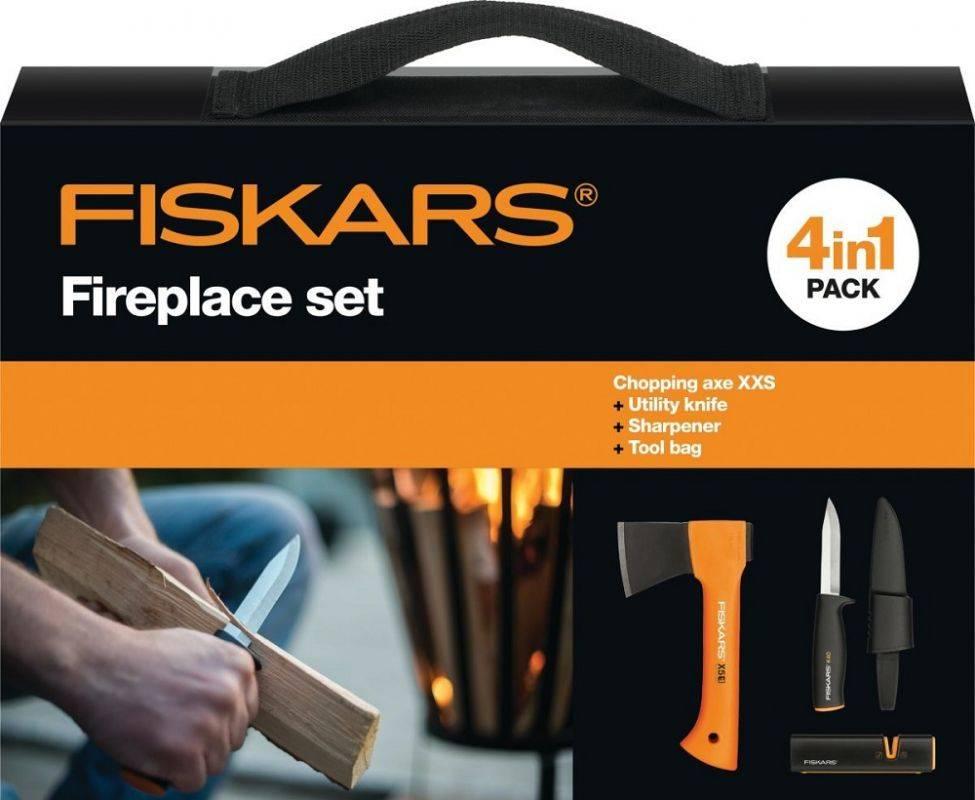 Топор Fiskars Х5 черный/оранжевый (1025441) - фото 5
