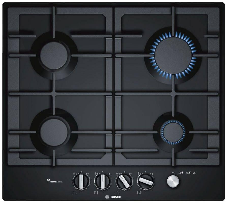Газовая варочная поверхность Bosch PCP6A6M90R черный - фото 1
