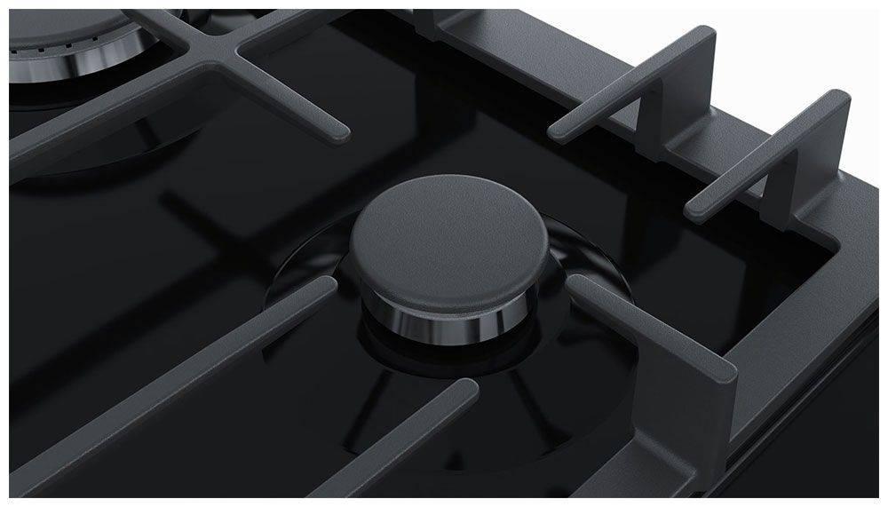 Газовая варочная поверхность Bosch PCP6A6M90R черный - фото 2