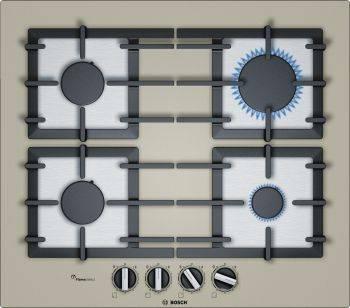 Газовая варочная поверхность Bosch PPP6A8B91R бежевый
