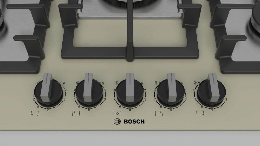 Газовая варочная поверхность Bosch PPQ7A8B90R бежевый - фото 3