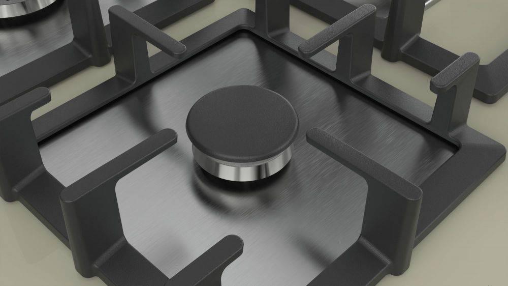 Газовая варочная поверхность Bosch PPQ7A8B90R бежевый - фото 4