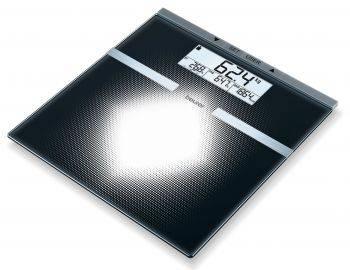 Весы напольные электронные Beurer BG21 черный (764.30)