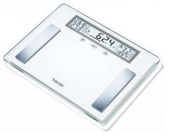 Весы напольные электронные Beurer BG51 XXL белый (760.20)