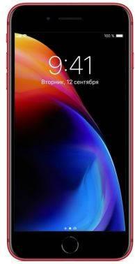 Смартфон Apple iPhone 8 Plus MRT92RU/A 64ГБ красный