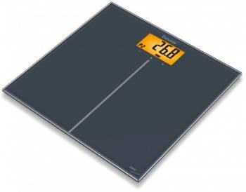 Весы напольные электронные Beurer GS280 BMI черный (757.31)