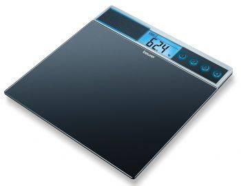 Весы напольные электронные Beurer GS39 черный (744.00)