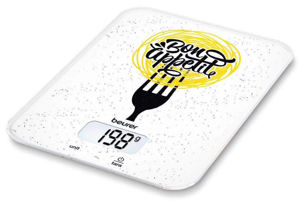 Кухонные весы Beurer KS19 Bon Appetit рисунок (704.18) - фото 1