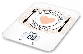 Кухонные весы Beurer KS19 Love рисунок (704.17)