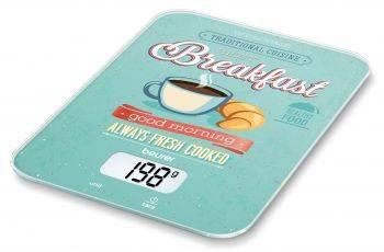 Кухонные весы Beurer KS19 Breakfast рисунок (704.03)