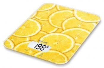 Кухонные весы Beurer KS19 lemon рисунок (704.07)