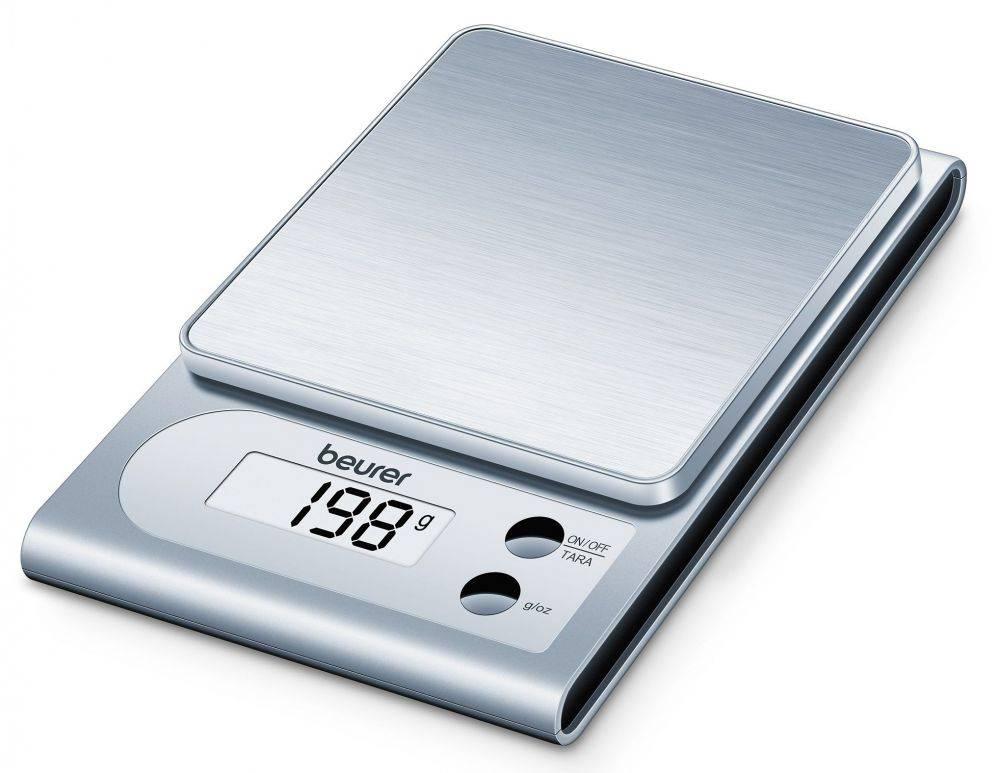 Кухонные весы Beurer KS22 серебристый (704.10) - фото 1