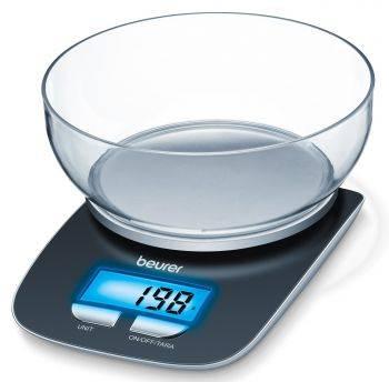Кухонные весы Beurer KS25 черный (704.15)