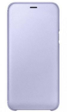 Чехол Samsung Wallet Cover, для Samsung Galaxy A6 (2018), фиолетовый (EF-WA600CVEGRU)