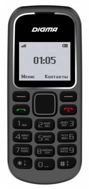 Мобильный телефон Digma A105 2G Linx серый (LT1035PM)