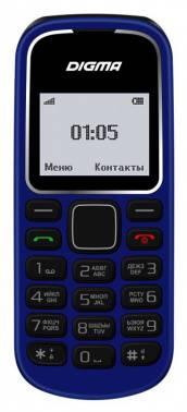 Мобильный телефон Digma A105 2G Linx темно-синий (LT1035PM)