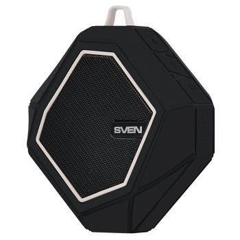 Колонка портативная Sven PS-77 черный/белый