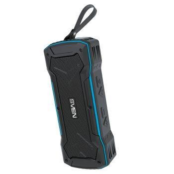 Колонка портативная Sven PS-220 черный/синий