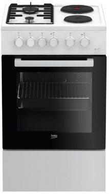 Плита комбинированная Beko FFSS54000W белый
