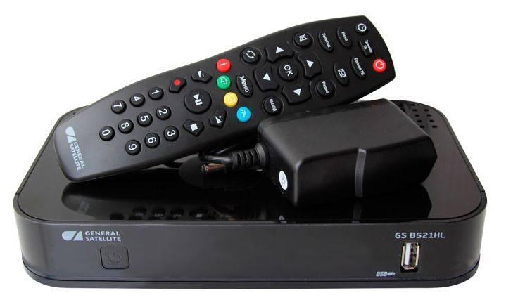 Комплект спутникового телевидения Триколор Full HD GS B521HL + HDD Дальний Восток черный (046/91/00049446) - фото 1