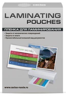 Пленка для ламинирования Cactus CS-LPGA7125100 A7 125мкм (100шт)