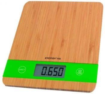 Кухонные весы Polaris PKS 0545D бамбук