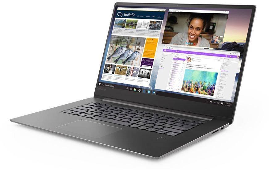 """Ноутбук 15.6"""" Lenovo IdeaPad 530S-15IKB синий (81EV003YRU) - фото 1"""