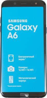 Смартфон Samsung Galaxy A6 (2018) SM-A600F 32ГБ синий (SM-A600FZBNSER)