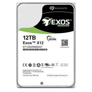 Жесткий диск 12Tb Seagate Exos ST12000NM0007 SATA-III