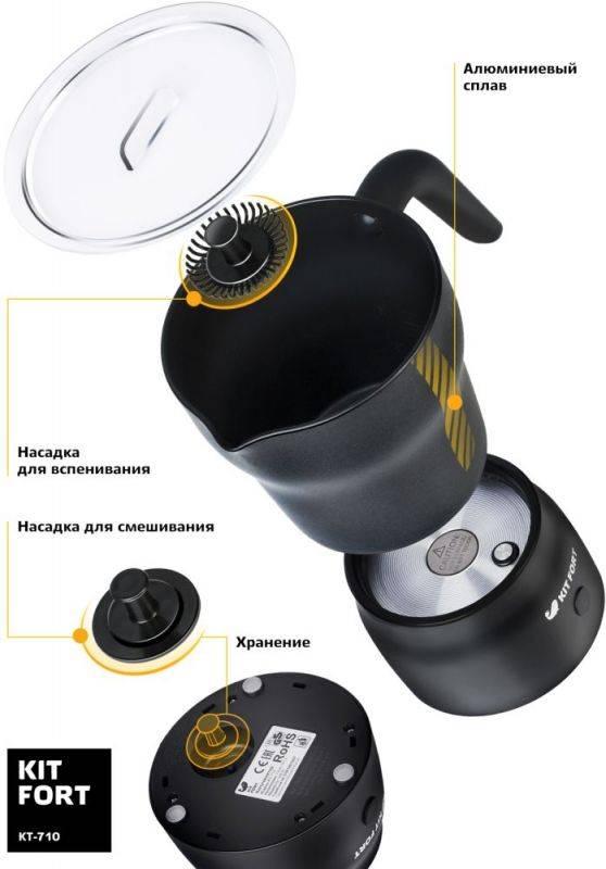 Капучинатор для вспенивателей молока Kitfort КТ-710 - фото 2
